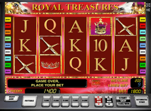 Играть в казино Вулкан в автомат Royal Treasures